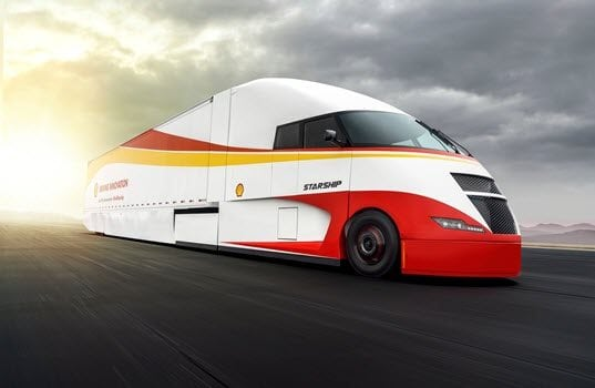 Shell and AirFlow Truck Company Debut Energy-Efficient Class 8 Truck