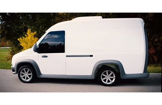 Nation's First Electric Delivery Van, Developed by Workhorse, Coming to San Francisco